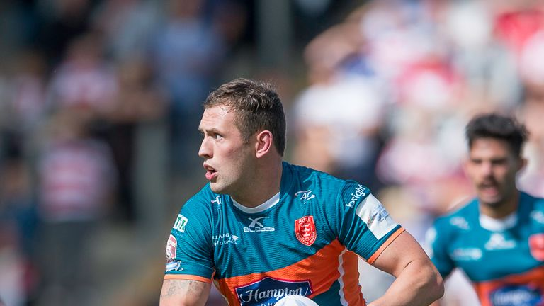 Shaun Lunt's Hull KR will meet local rivals Hull FC