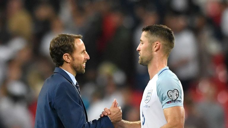 Gareth Southgate left Cahill out of his squad for the warm-up games against the Netherlands and Italy