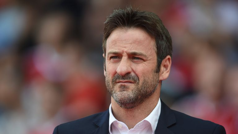 Leeds are challenging for promotion under manager Thomas Christiansen