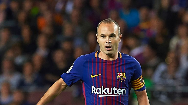 Andres Iniesta has made 639 appearances for Barcelona