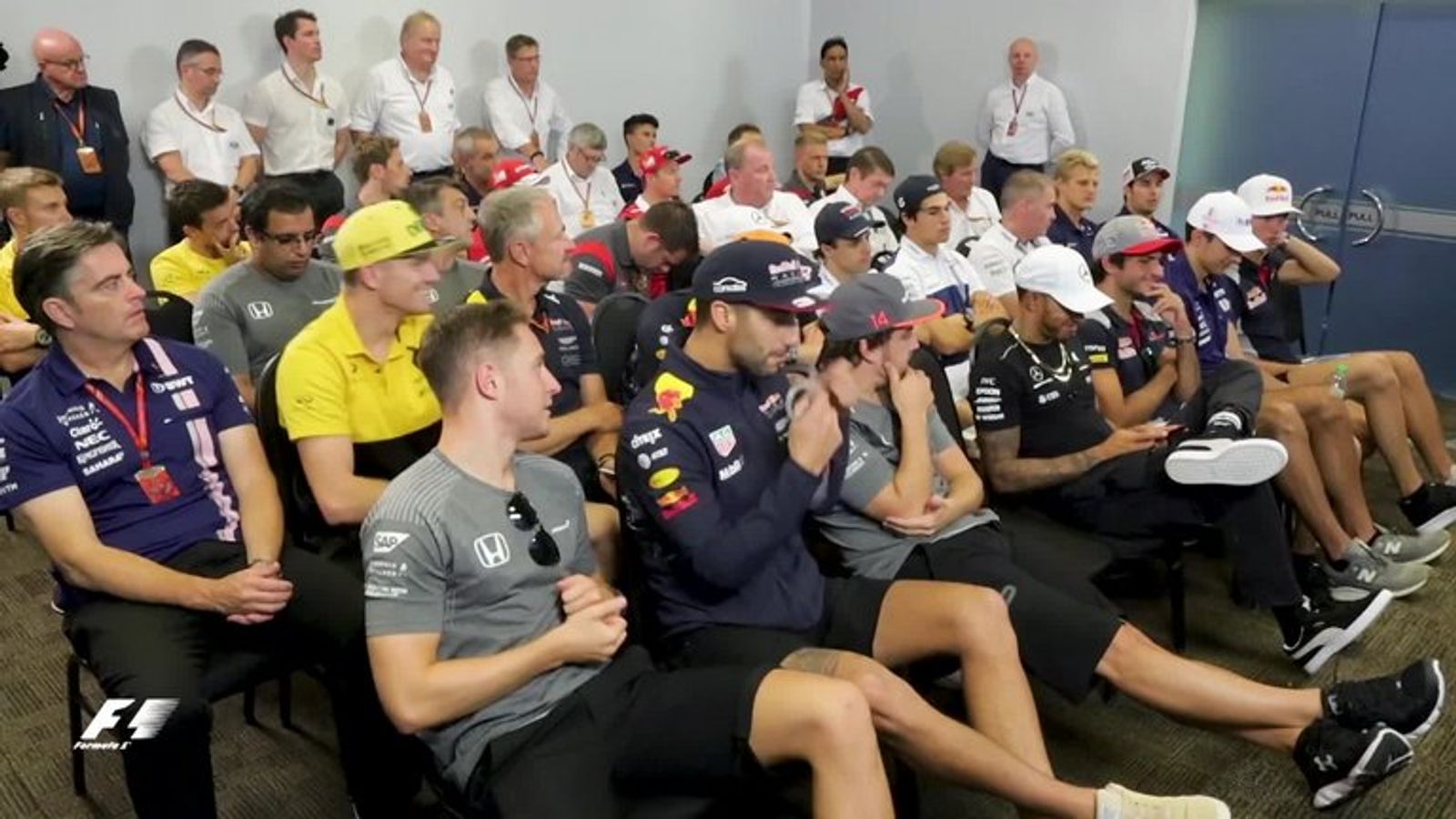 WATCH: Go behind the scenes of the Malaysia GP F1 driver ...