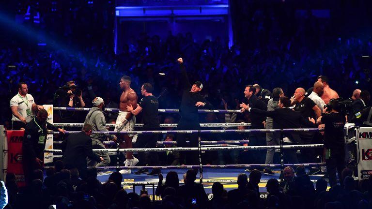 Joshua beat Wladimir Klitschko at Wembley in April