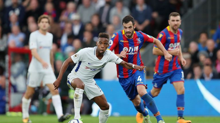 Musonda in action for Chelsea against Crystal Palace in October