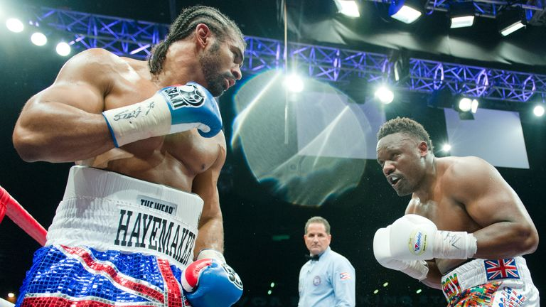 Dereck Chisora pens management deal with David Haye