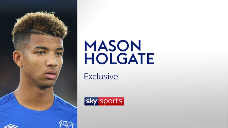 Mason Holgate is grateful for David Unsworth's help in developing his game
