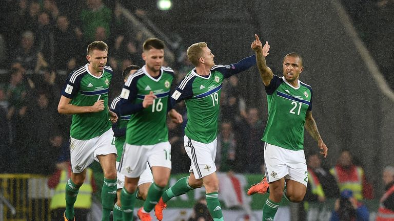 Northern Ireland are unseeded for Tuesday's play-off draw