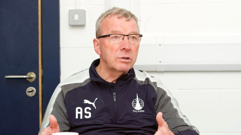 Alex Smith is taking charge of Falkirk on an interim basis for a second time