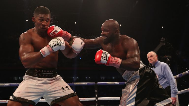 Takam was resilient when losing out to Joshua