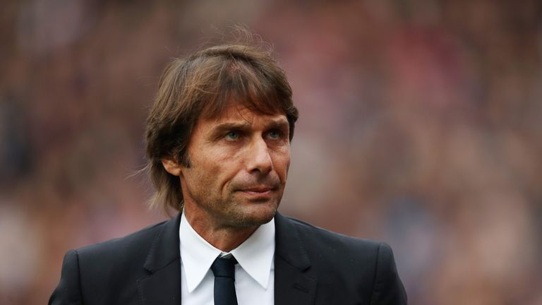 Antonio Conte says he is not feeling the pressure at Chelsea