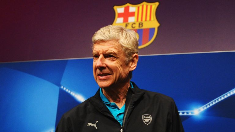 Arsenal manager Arsene Wenger does not envisage a situation where Barcelona would join the Premier League
