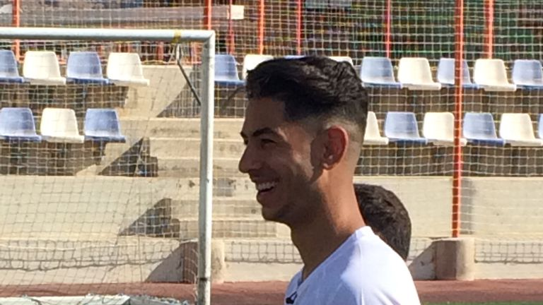Ayoze Perez spoke exclusively to Sky Sports News while back home in Tenerife during the international break.