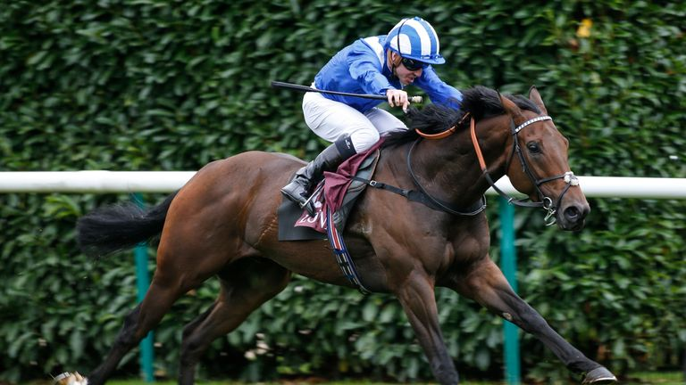 Battaash wins the Prix de l'Abbaye de Longchamp Longines