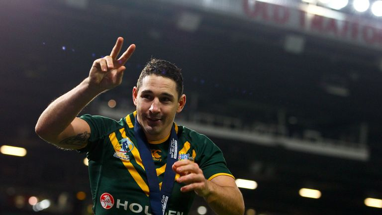 Billy Slater won the World Cup with Australia in 2013
