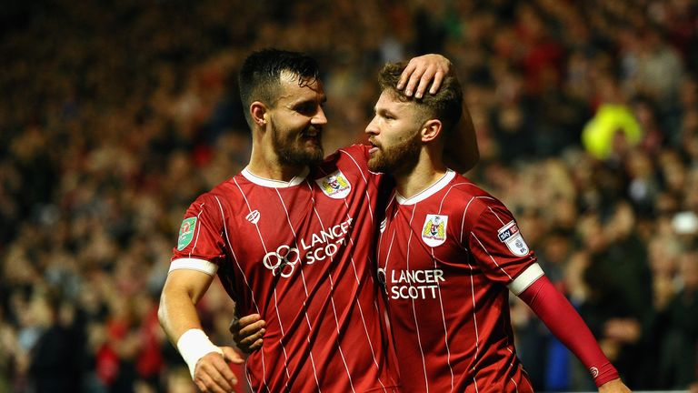 The Robins are the only side left in the competition from outside the Premier League