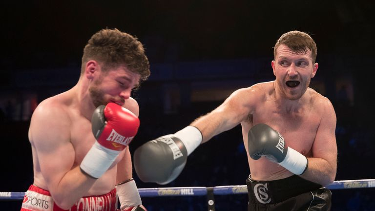 Scott Cardle was taken the scheduled six rounds by Lee Connelly