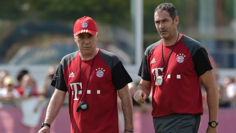 Carlo Ancelotti and Clement worked together at Real Madrid and Bayern Munich