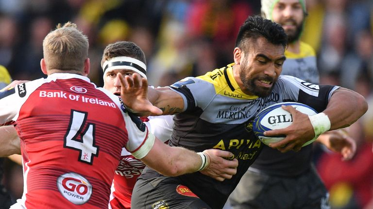 Victor Vito and La Rochelle will be seeking to overtake Ulster in Pool 1