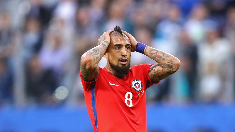 Arturo Vidal will continue to play for Chile
