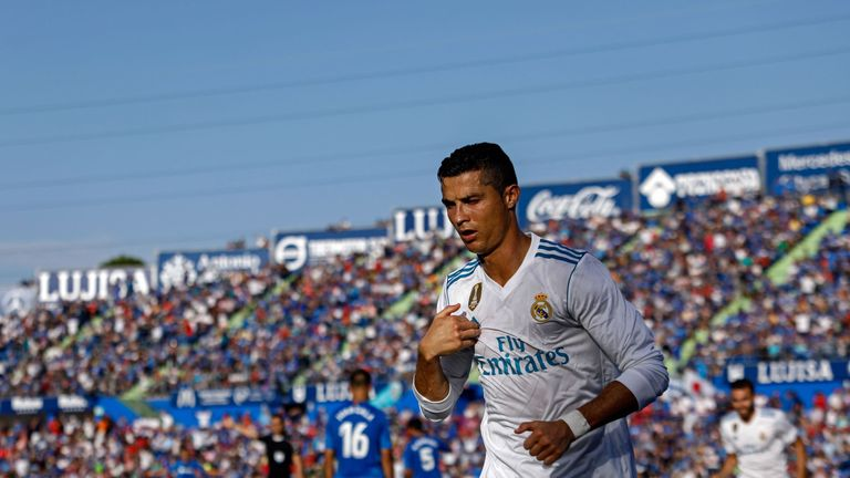 Cristiano Ronaldo's continued success at the age of 32 was referenced by Jones