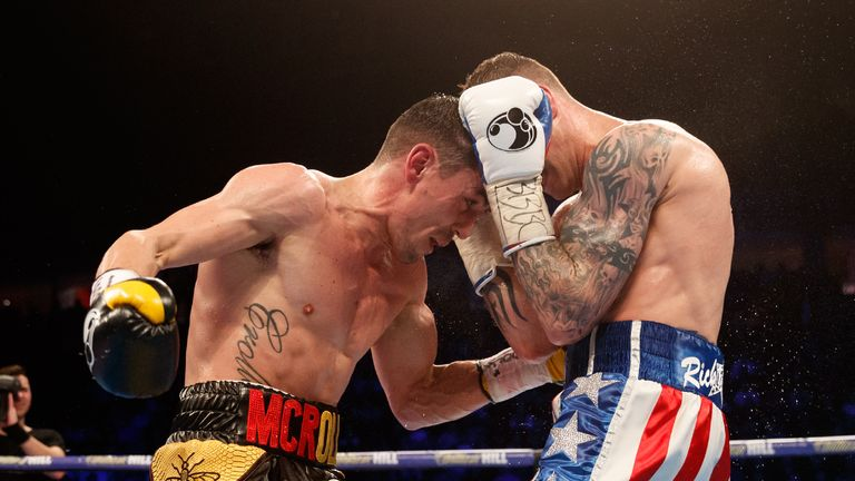 Crolla beat Burns last time out