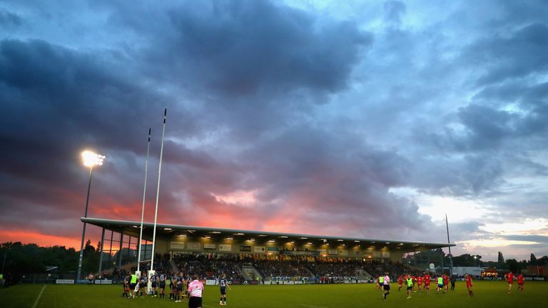 Doncaster Knights currently lie fourth in the RFU Championship