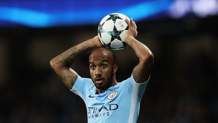 Fabian Delph suffered a knee injury against Liverpool