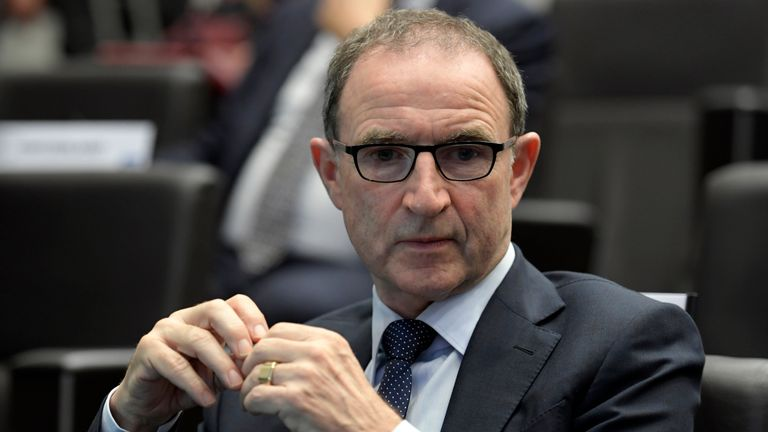 Republic of Ireland manager Martin O'Neill will be without a number of regulars in Cardiff
