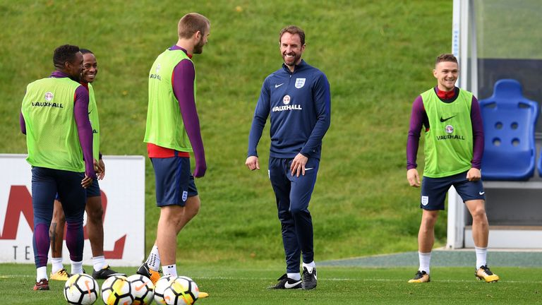 England face Slovenia and Lithuania in their two remaining World Cup qualifiers this week