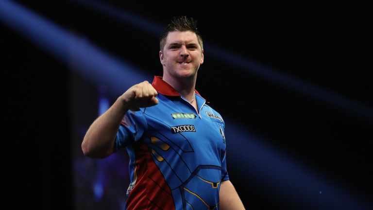 Daryl Gurney is well positioned in Group D after his second Grand Slam victory