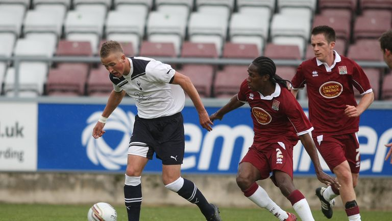 Harry Kane against Northampton Town in 2010