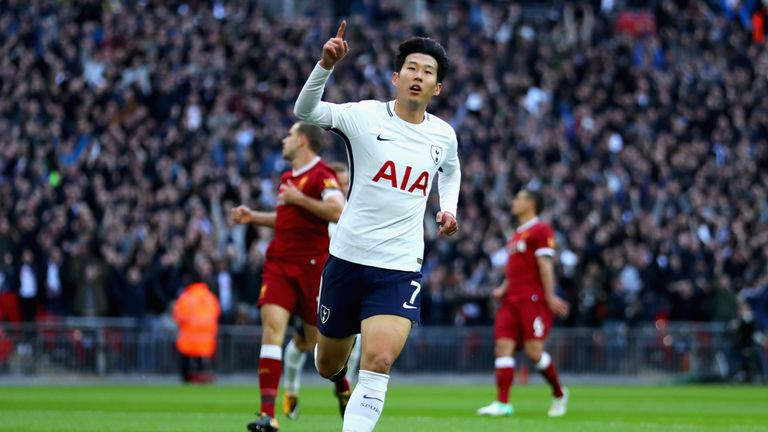 Son Heung-min is on the brink of a new record