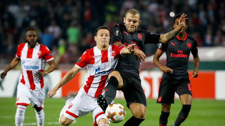 Jack Wilshere was heavily involved in the build-up to the decisive goal
