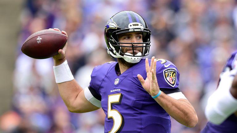 Joe Flacco wants to get the Ravens back to the postseason