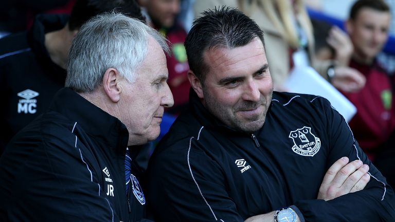 Unsworth was assisted by former Everton manager Joe Royle and he will take up that role once again.
