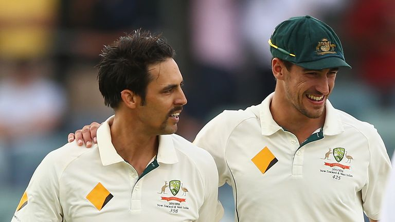 Starc is hoping to emulate Mitchell Johnson's feats during the 2013-14 Ashes series