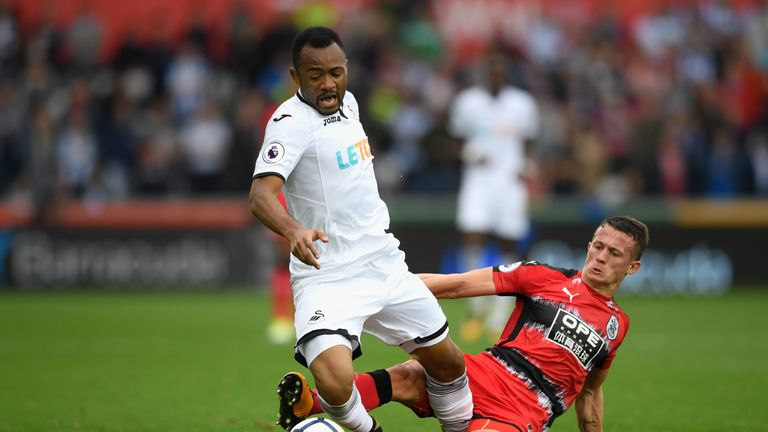 Ayew played an instrumental role in the second goal