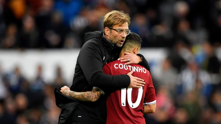 Coutinho stayed put at Liverpool despite a summer transfer saga with Barcelona