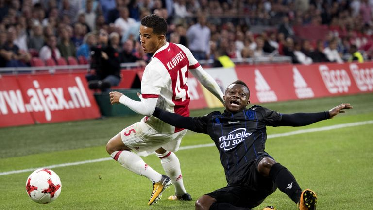 The Netherlands are pinning their hopes on Justin Kluivert