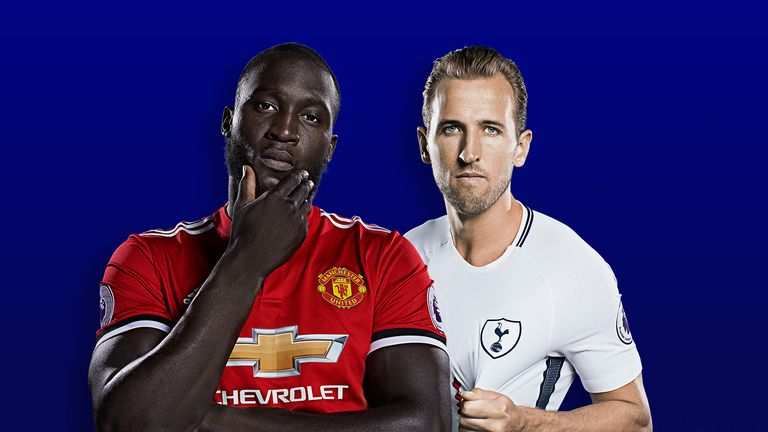 Harry Kane and Romelu Lukaku are the top-ranked strikers in the Premier League