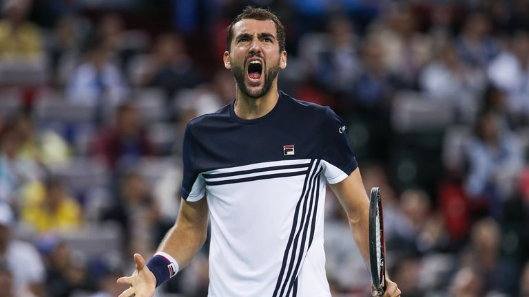 Marin Cilic will be at London's O2 for the World Tour Finals in November
