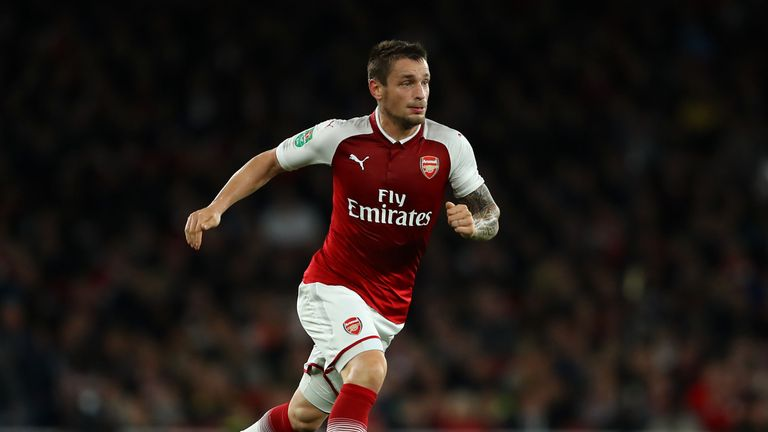 Wenger thinks Mathieu Debuchy will fit in well as a centre-back