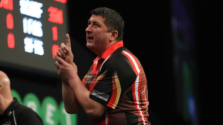 Mensur Suljovic became the latest big name to suffer defeat at the Alexandra Palace