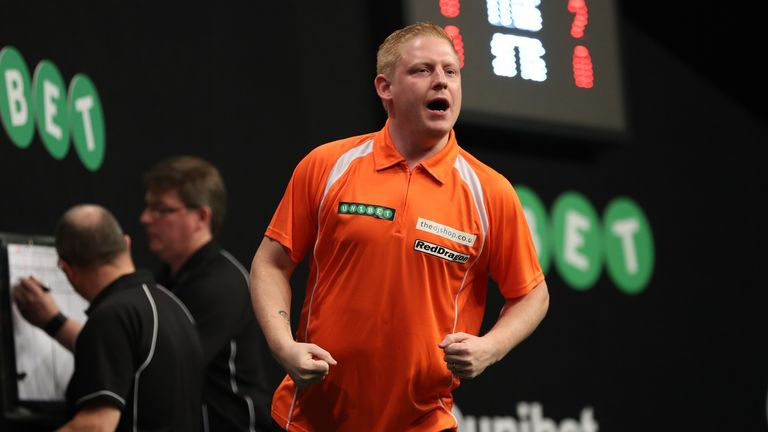 Richard North will take on the experienced Simon Whitlock on Wednesday