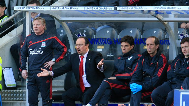 Rafael Benitez and Mauricio Pellegrino worked together at Liverpool