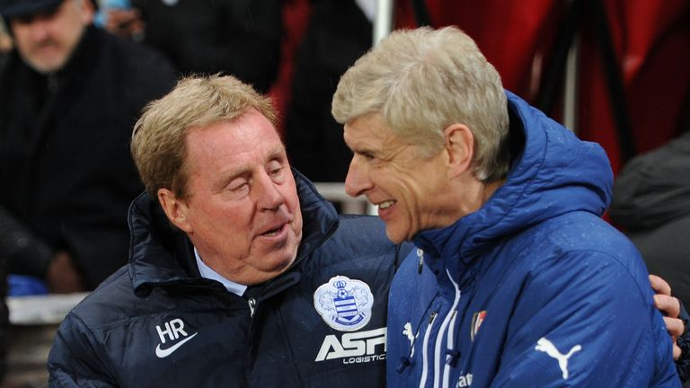 Harry Redknapp and Arsene Wenger both have managed Paul Merson