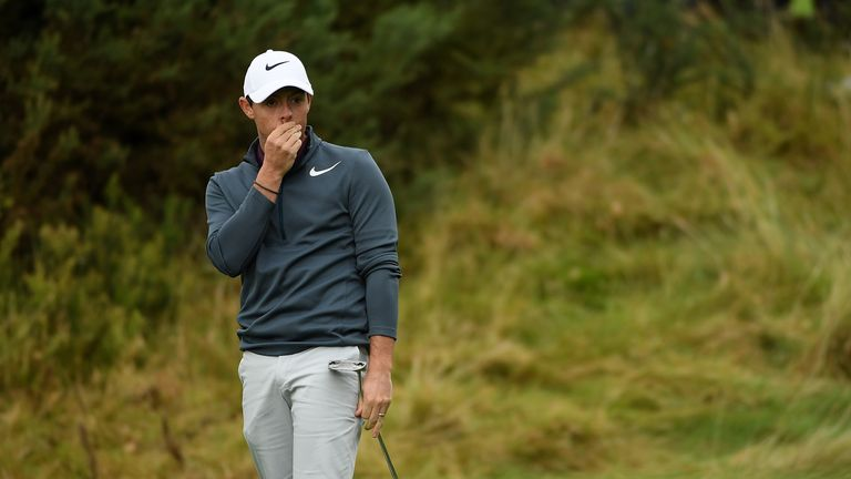 McIlroy's season has been hampered by injury