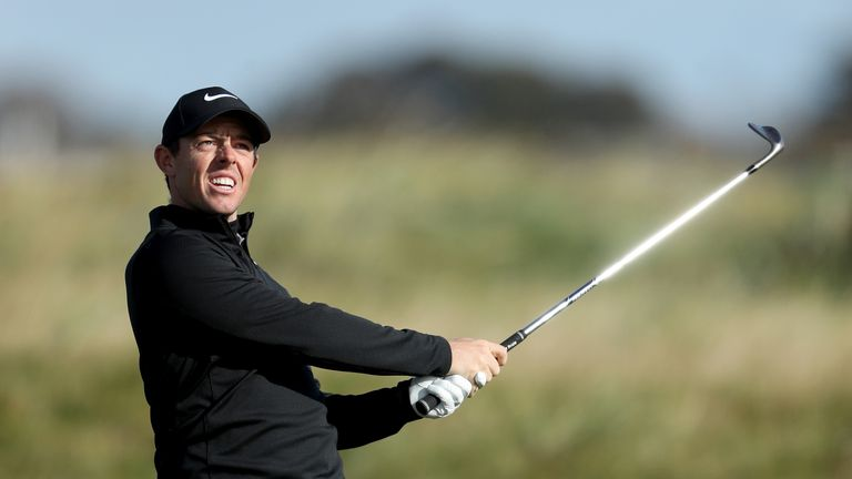 Rory McIlroy will return to action in Abu Dhabi early next year