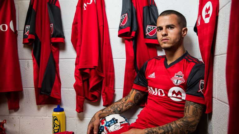 Giovinco has made 98 appearances for Toronto since his arrival (Photo by Rob Tringali)