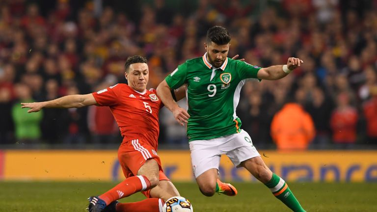 James Chester played in last year's defeat to Ireland which ended Wales' World Cup qualification hopes
