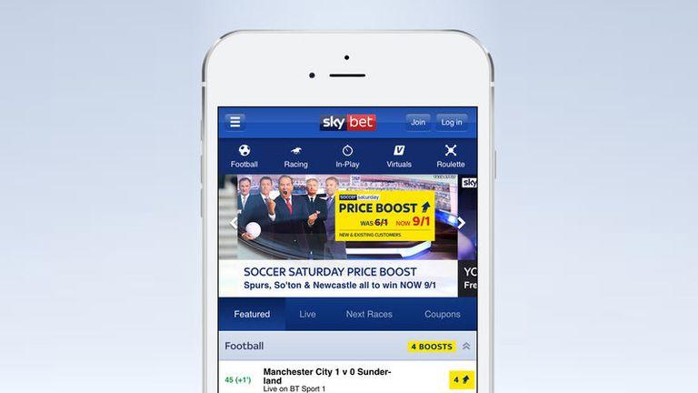 Sky Bet Mobile App